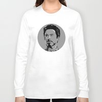 house stark Long Sleeve T-shirts featuring Tony Stark by Hazel