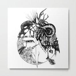 Forest Junk Metal Print