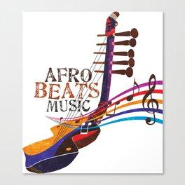 AFRO BEATZ Canvas Print