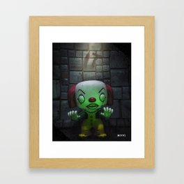 Clown Horror Framed Art Print