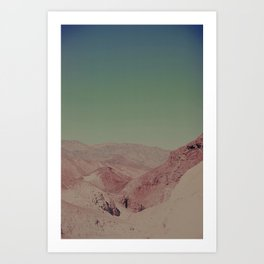 Vintage Death Valley Art Print