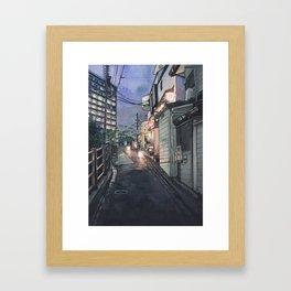 Tokyo at Night #10 Framed Art Print