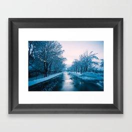 Narnia Road Framed Art Print