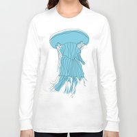 medusa Long Sleeve T-shirts featuring medusa by Manola  Argento