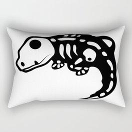 Lizard skeleton Rectangular Pillow