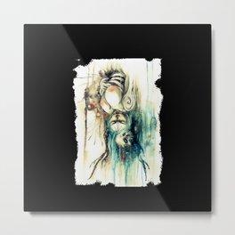 MALASUERTE - CALAVERA DE AZUCAR Metal Print