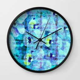 flower kirsche kaleidoskope Wall Clock