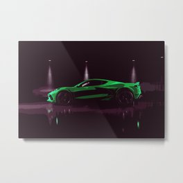 American Sports Car / Supercar (Mid-Engined) Metal Print