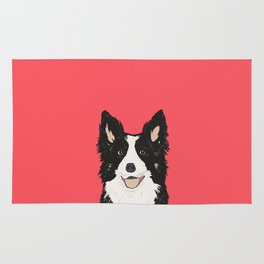 Montana - Border Collie gifts for dog people and dog lovers perfect gifts for a dog person.  Rug