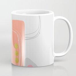 Modern minimal forms 49 Coffee Mug