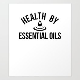 CUTE PRETTY ESSENTIAL OIL DIFFUSER productS - HEALTHY Art Print