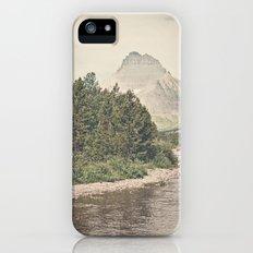 Retro Mountain River iPhone (5, 5s) Slim Case