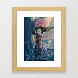 Eltanin and Errai Framed Art Print