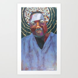 The Tribute Series-Alton Sterling Art Print