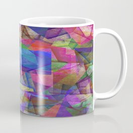 Pieces Of colour - Abstract, colour fragments Coffee Mug