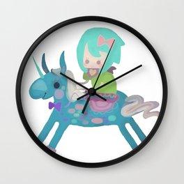 PonyCorn/w Wall Clock