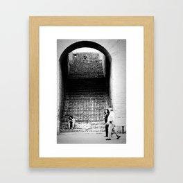 In the Collosseum Framed Art Print