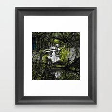 Friday 22 February 2013: roots, such malleable contrivances Framed Art Print