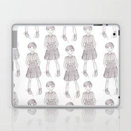 Jumper girl Laptop & iPad Skin