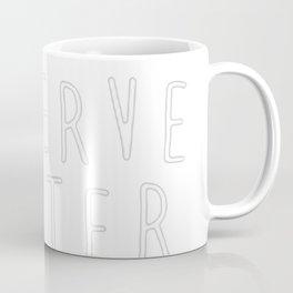 CATS DESERVE BETTER THAN PEOPLE Coffee Mug