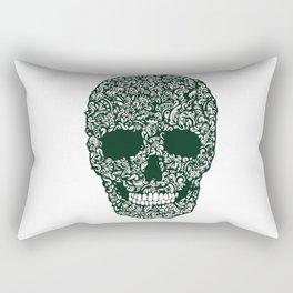Moss Skull Rectangular Pillow