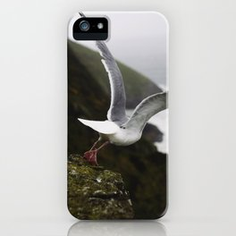 Taking flight iPhone Case