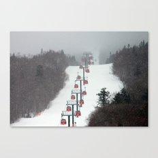Gondolas Canvas Print