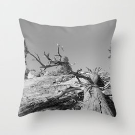 Lost Life Throw Pillow
