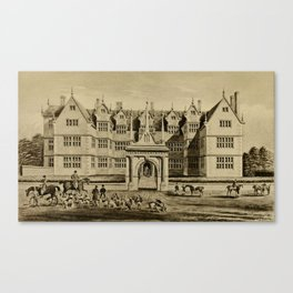 The Pytchley Hunt Canvas Print