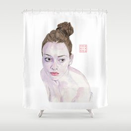 Portrait of a Ballerina Shower Curtain