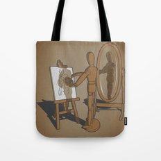 My own model. Tote Bag