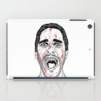 american psycho iPad Cases featuring American Psycho. by Saul Art