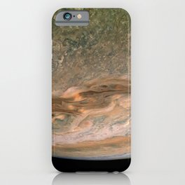 Surface and storms of Planet Jupiter iPhone Case