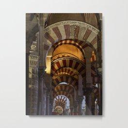 Mezquita of Cordoba #2 Metal Print