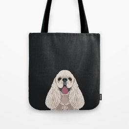 Harper - Cocker Spaniel phone case gifts for dog people dog lovers presents Tote Bag