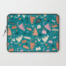 Cats have rights! Laptop Sleeve