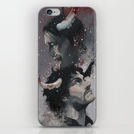 Winter Blood iPhone Skin