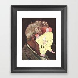 Slap in the face Framed Art Print