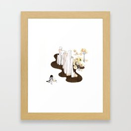 Almost There Framed Art Print