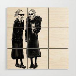 mary-kate n ashley 4 eva Wood Wall Art