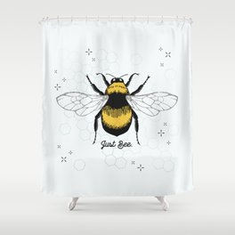 Just Bee. Shower Curtain