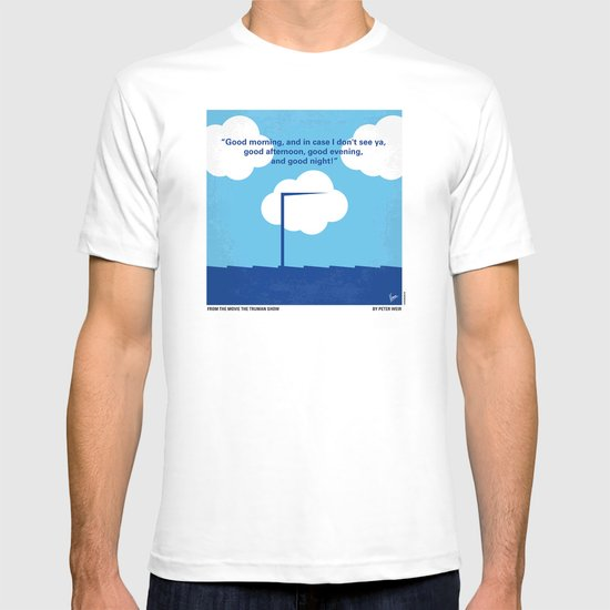 No234 My Truman show minimal movie poster T-shirt