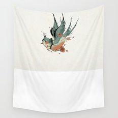 Swallow  Wall Tapestry