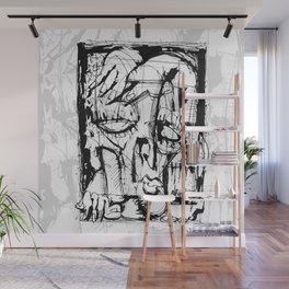 Drained - b&w Wall Mural