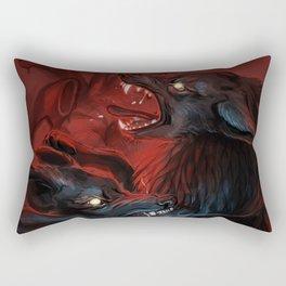 Betrayer Rectangular Pillow