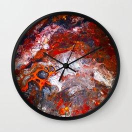 Inferno No. 1 Wall Clock