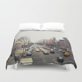 New York City Streets Duvet Cover