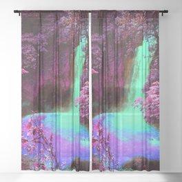 Dan's Waterfall Sheer Curtain