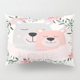 Beary Much Love You Pillow Sham