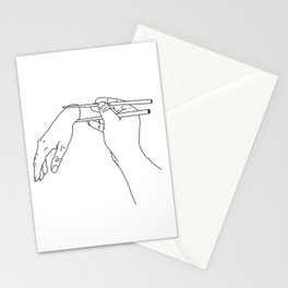 Someone Ordered a Hand Roll Stationery Cards